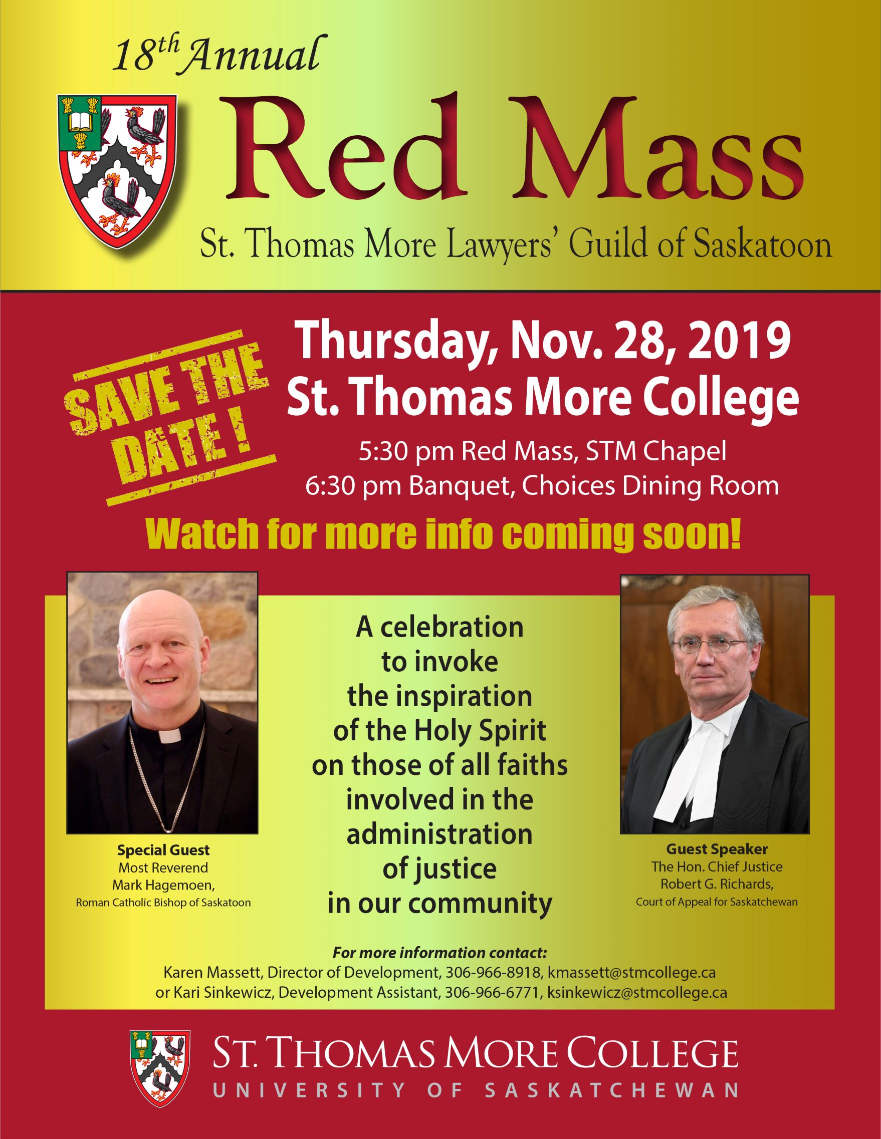 Red Mass save the date 2019