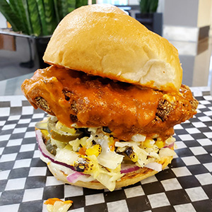 Choices Hot Chicken Sandwich